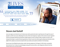 2Lives Site Design