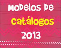 Modelos de Catálogos - 2013