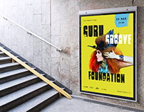 Poster pop group Guru Groove Foundation