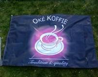 Vlaggen Oké Koffie