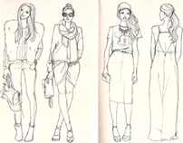 Fashion Sketches II