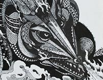 Ilustração III - Nanquim