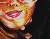 Ilustração I - Pastel