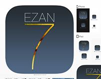 Ezan 7 Mobil APP Icon Design