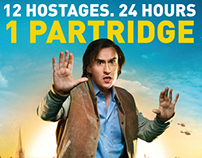 Alan Partridge : Alpha Papa - DVD Design