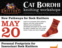 Northcoast Knittery Cat Bordhi Promo Posters