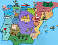 Peoples of the Iberian peninsula Map