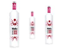 vodka packaging by dedend