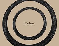 """I'm here."" vinyl record"