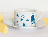 """""""Velikan"""" Cup and Decal"""