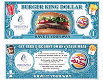 Burger King dollar