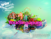 Singapore Tourism Board Packaging