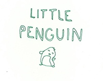 Little Penguin Book Illustration