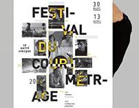 Affiche festival du court métrage