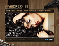 Hair Dressing HTML5 Template 300111565