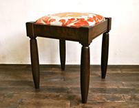 fabric stool A-1