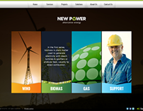 New Power Renewable energy HTML5 Template