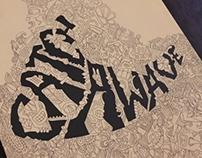 Illustrated Typography Phrase