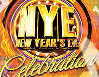 NYE New Year's Eve Part Flyer