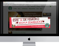 || Web || Starbucks || 14th February Banner for