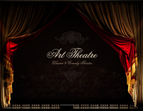 Drama & Comedy Theatre HTML5 Template 300111610