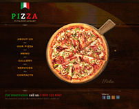 Pizza Restaurant HTML5 Template 300111613