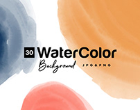 free watercolor paint background