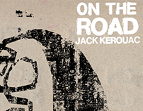Poster and book cover for: On the Road, Jack Kerouac