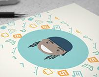 Ilustração - Personagem e mascote