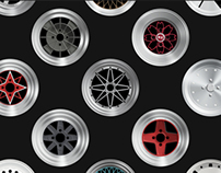 The Wall of the Wheels | Petrolified