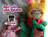 Hand Made Plush Toys Monopales