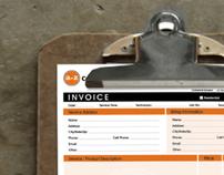 A-Z Construction Invoice