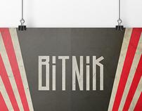 BITNIK font