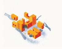 Ilustración para revista Cálamo Junio 2013