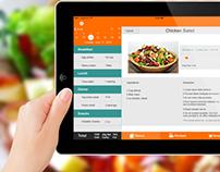 iOS7 Recipes App.