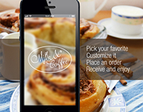 Mobile Application for a Coffee Shop
