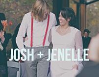 JOSH + JENELLE
