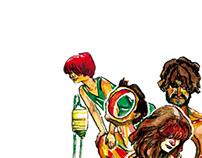 O Caos do Acaso | Ilustrações