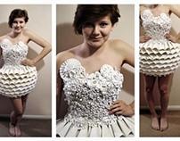 Paper Dress (GCSE Art)