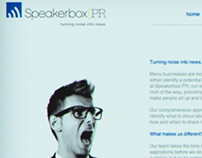Speakerbox PR Branding and Identity