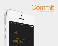 Commit iOS 7 redesign