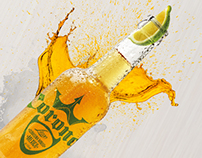 "Diploma work / Advertising campaign for ""Corona Lime"""