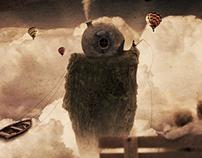 "Gabriel Corbett - ""Over the clouds"""
