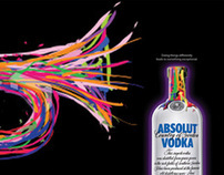 Corporate Wall Murals Absolut Vodka