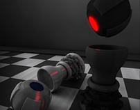 3D - La pièce noire
