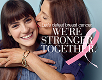Estée Lauder's Together Against Breast Cancer campaign