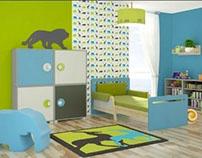 Safari Room - a playground for little boy