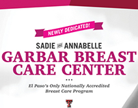 Garbar Breast Care Center Dedication Campaign
