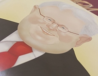 Andrew Metcalfe caricature