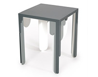 Paint Drip Tables